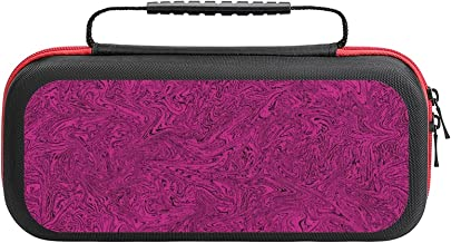 $26 » Melted Raspberry Case Compatible with Switch Case Protective Carry Bag Hard Shell Storage Bag Portable Travel Case for Swi...