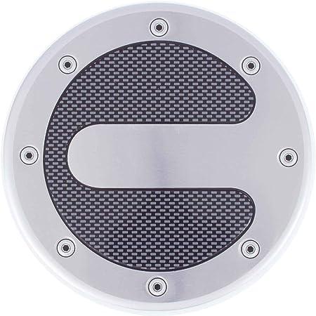 Walser Tankdeckelblende Tankdeckel Blende Tuning Alu Carbon Look Rund Ø 13 2cm Auto