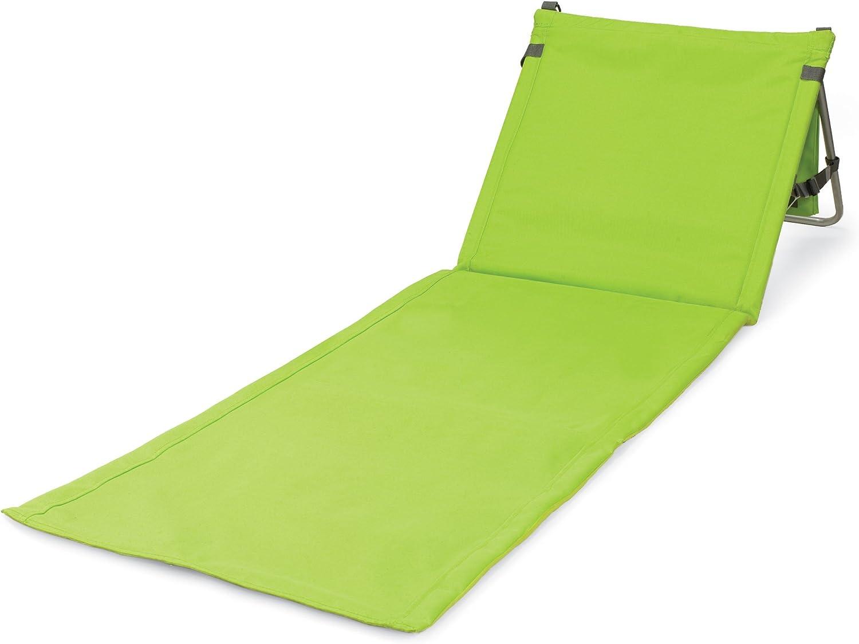ONIVA  a Picnic Time Brand Beachcomber Portable Beach Mat, Lime Green