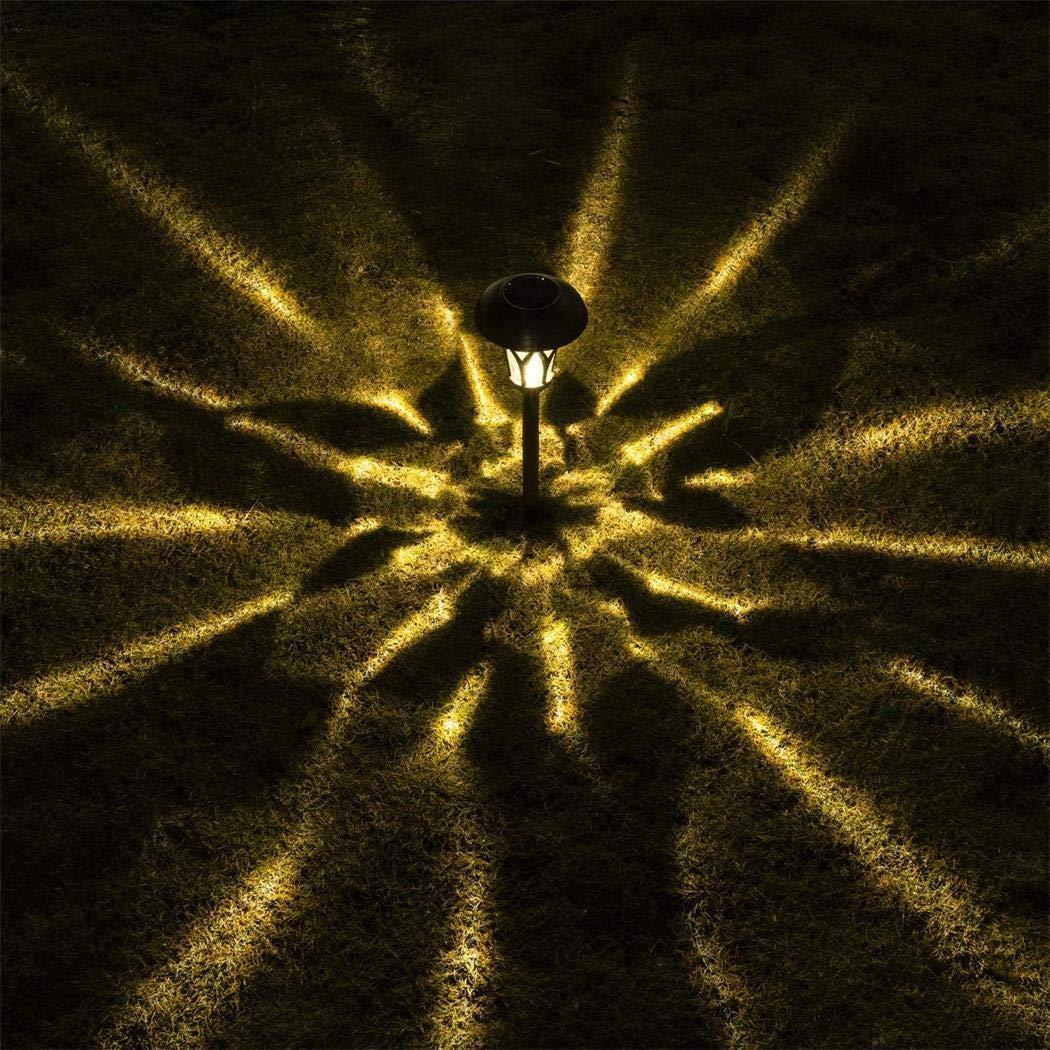 L/ámparas de c/ésped para jard/ín L/ámparas de c/ésped para jard/ín al aire libre L/ámparas de camino solar LED Luces al aire libre Impermeable Solar para jard/ín Paisaje Camino Patio Patio Calzada