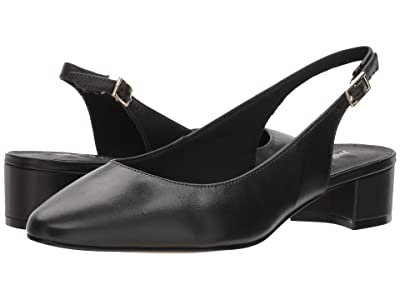 Walking Cradles Hazel (Black Leather) Women