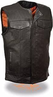soft leather vest