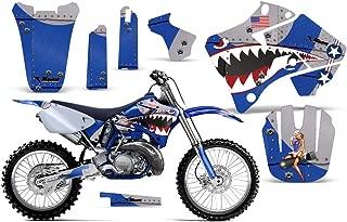 P40 Warhawk-AMRRACING MX Graphics decal kit fits Yamaha YZ 125/250 (1996-2001)-Blue