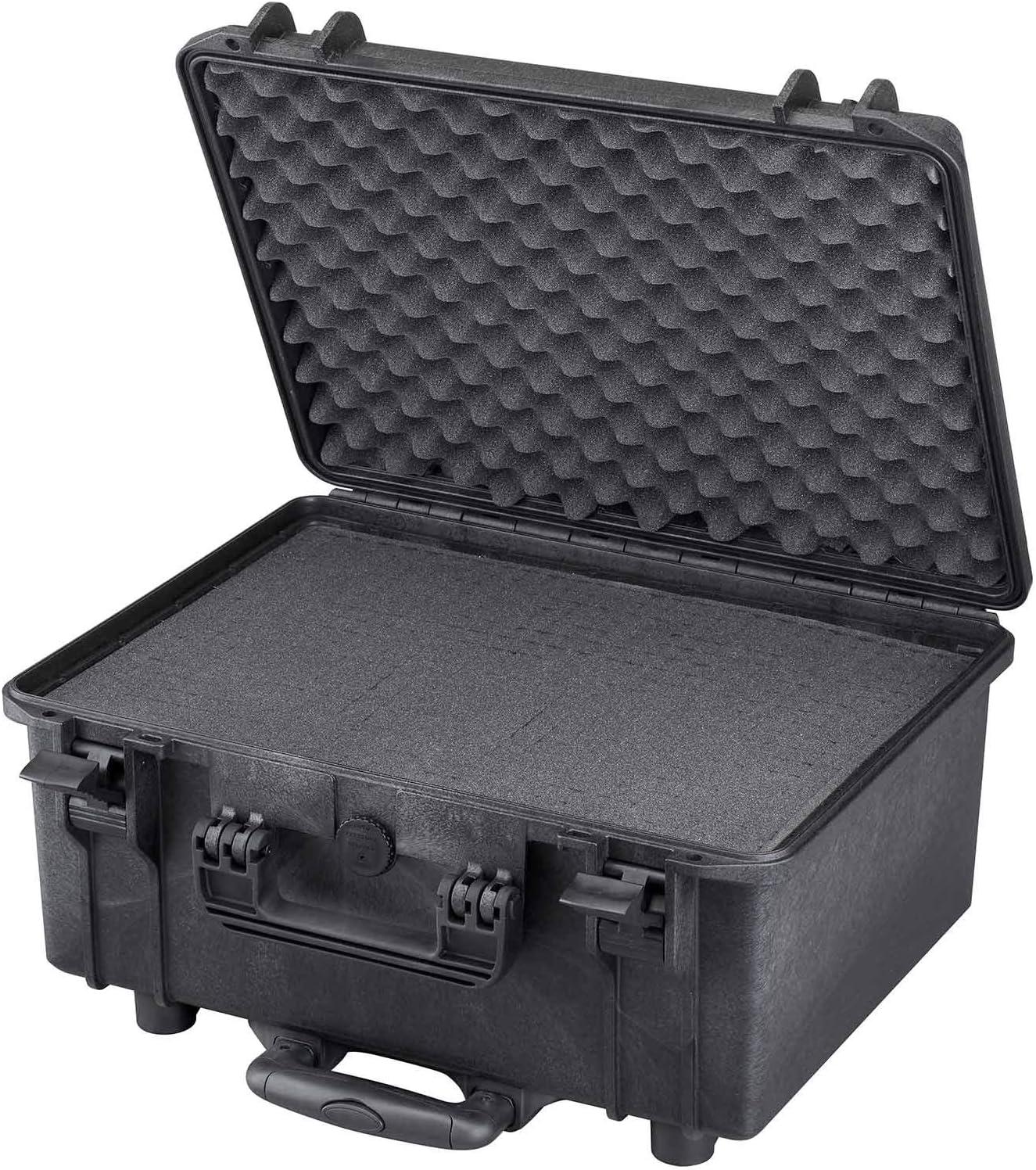 316 x 195 x H53 mm Nero MAX MAX003HDS Valigetta