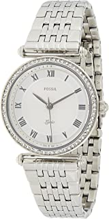 Fossil Casual Ladies Wrist Watch, Silver