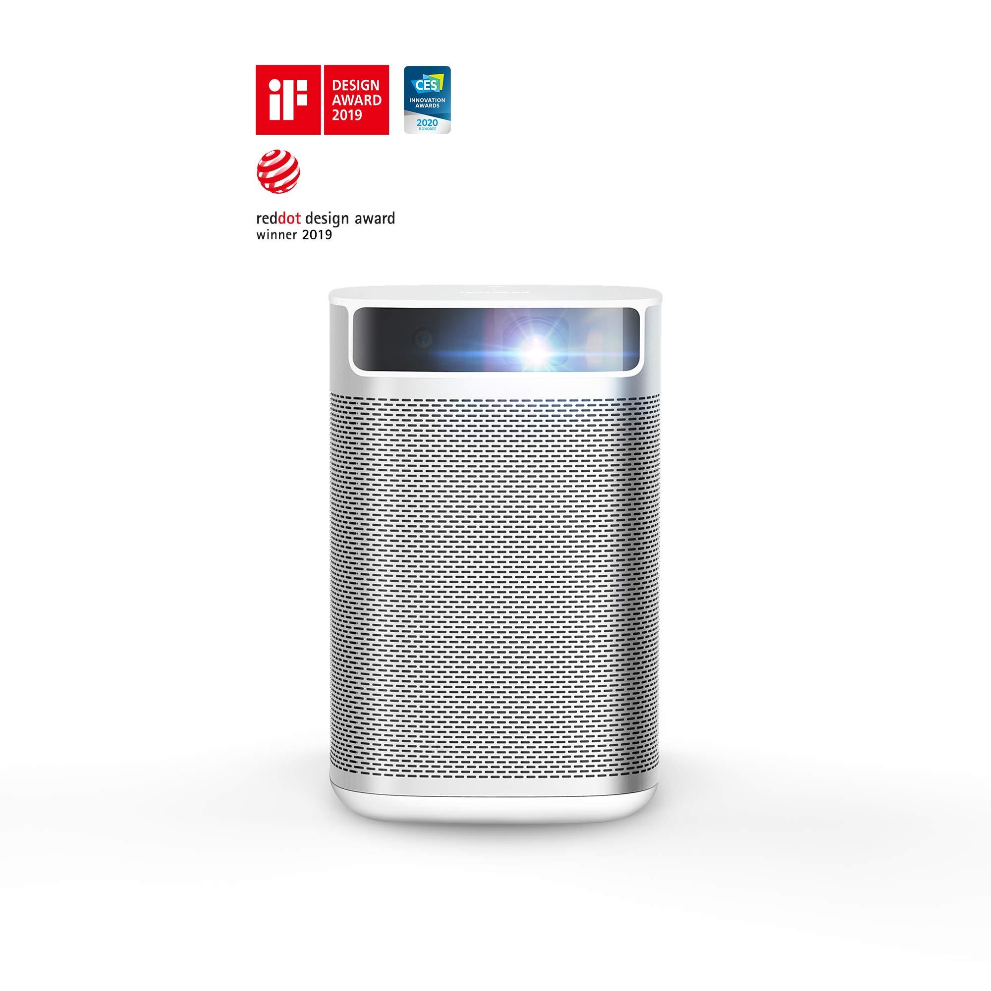 XGIMI MOGO proyector portatil Intelligente, 210 ANSI Lumen, Proyector LED, Mini proyector con Android TV 9.0, Youtube y más de 4000 Aplicaciones lección en línea: Amazon.es: Electrónica