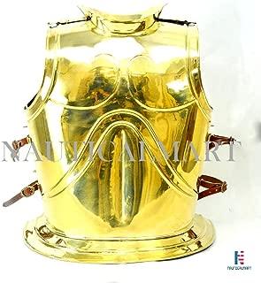 Greek Bell Muscle Armor Brass Cuirass LARP SCA Reenactment