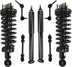 Detroit Axle - 8pc Front Struts & Rear Shock Absorber w/Sway Bar Links for 2003-2011 Ford Crown Victoria/Lincoln Town Car ...