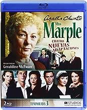 Agatha Christie's Miss Marple Adaptations - Season 3 4 Films Set Marple: Towards Zero / Marple: Nemesis / Marple: At Bertram's Hotel / Marple: Ordeal Reg.A/B/C Spain