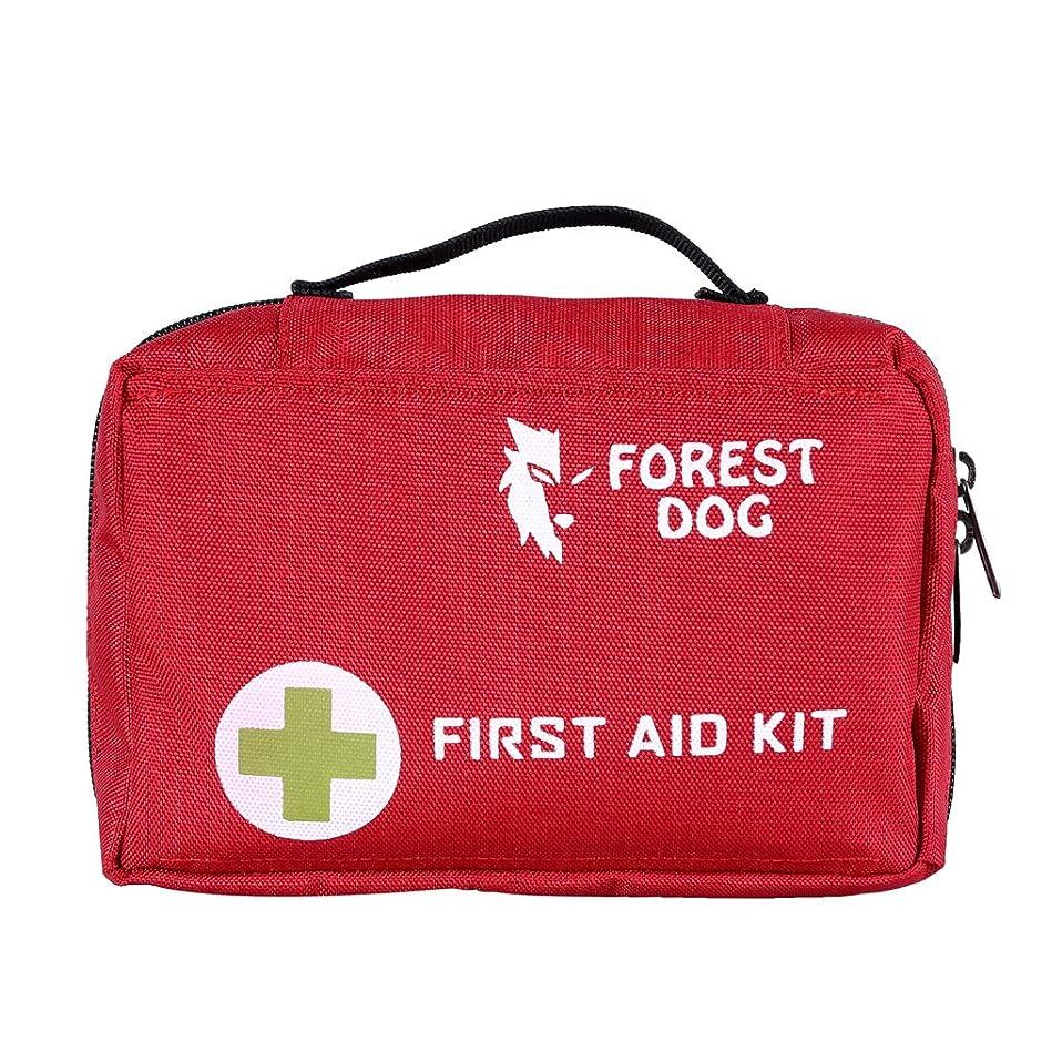 望む薄める外国人Fenteer ナイロン ファーストエイドキット 応急処置キット 救急バッグ 救急箱 トラベル キャンプ ハイキング用