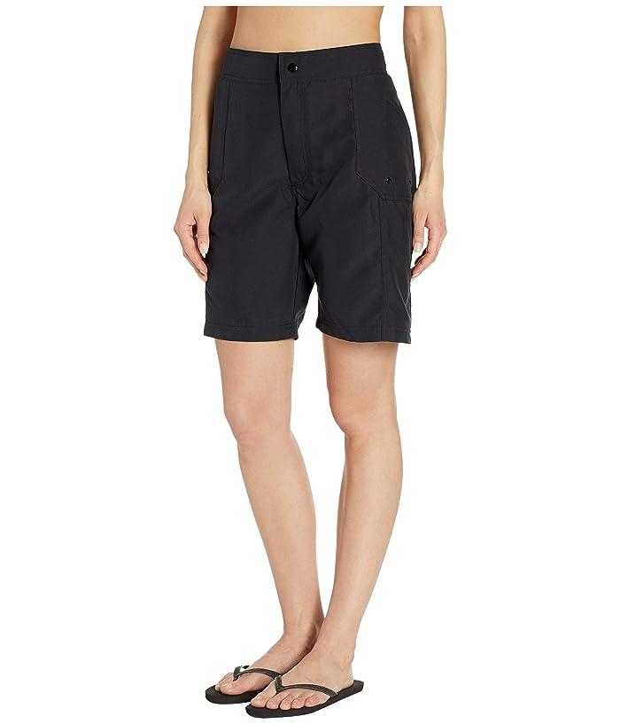 Maxine Of Hollywood Swimwear Solids Woven Long Boardshort - Ropa Traje