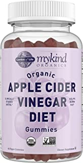 Apple Cider Vinegar Diet Gummies by Garden of Life mykind Organics - Organic ACV Gummy Vitamins with Svetol Green Coffee B...