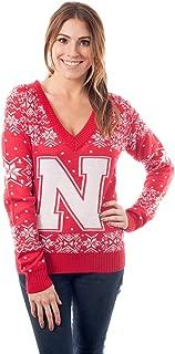 Women's University of Nebraska Sweater - Nebraska Cornhuskers Ugly Christmas Sweater
