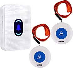 Wireless Caregiver Pager Smart Call Button System Personal Alarm Nurse Calling Alert Patient Help System Home Personal Att...
