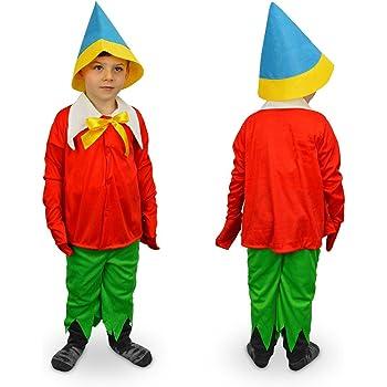 Disfraces FCR - Disfraz pinocho niño talla 4 años: Amazon.es: Ropa ...
