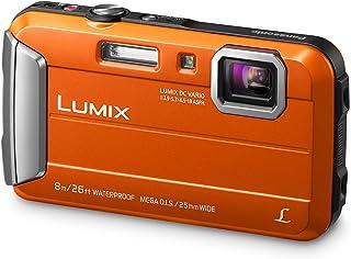 Panasonic LUMIX DMC-FT30EB-D Tough Waterproof Compact Digital Camera - Orange