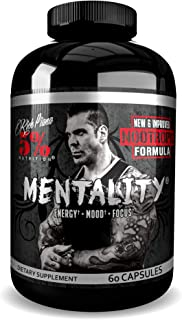 Rich Piana 5% Nutrition Mentality (60 Capsules) 30 Servings