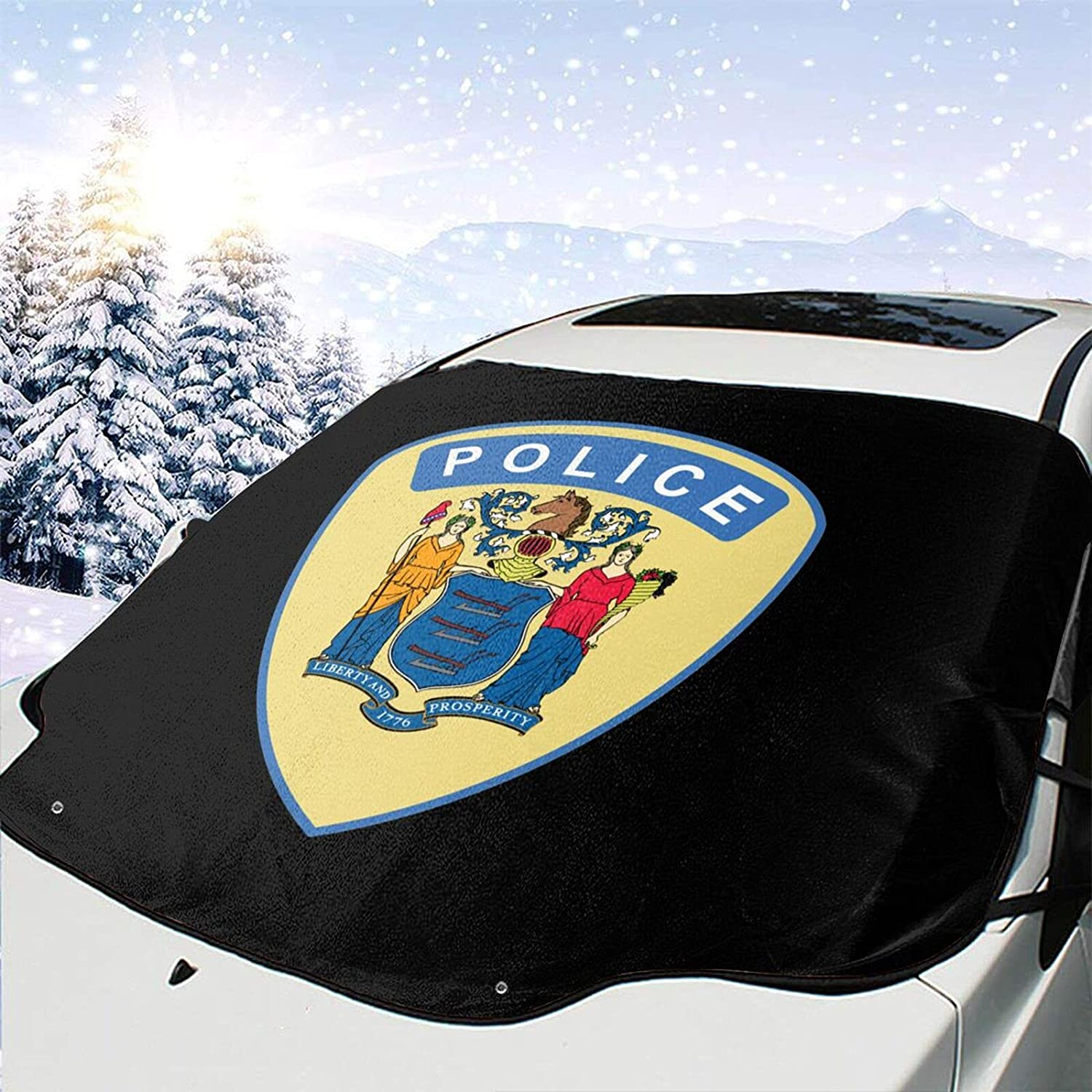 Flag of New Jersey Police Windshield Wipe Snow Cover Removal Ice Bargain sale Popular product