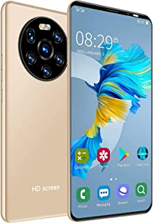 5.45in HD-helskärmsmobiltelefon, 1 + 8 GB Dual-kort Dual Standby-smarttelefon, högupplöst kamera, ansiktsigenkänning och f...