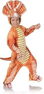 UNDERWRAPS Kid's Children's T-Rex Dinosaur Printed Jumpsuit Costume Childrens Costume, Yellow, Medium
