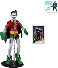 """McFarlane Toys DC Multiverse Robin Earth -22 (Dark Nights: Metal) 7"""" Action Figure with Build-A..."""