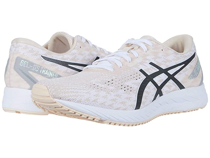 ASICS  GEL-DS Trainer 25 (White/Gunmetal) Womens Running Shoes
