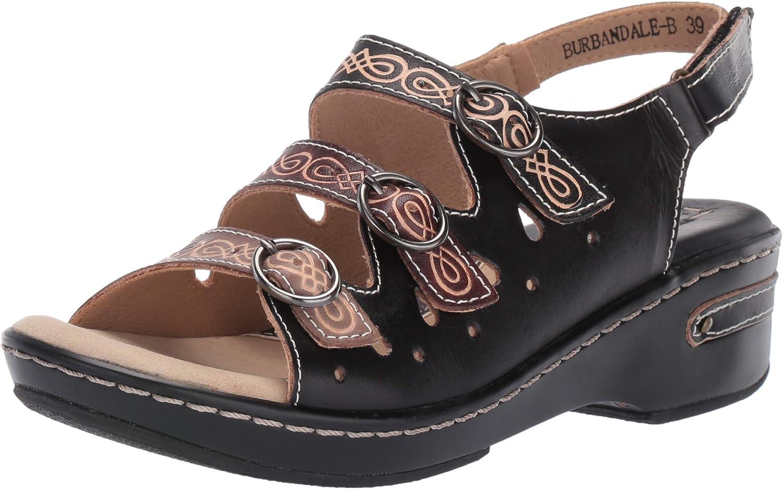 New popularity Spring Step L'Artiste Brand new Women's Sandal Wedge Burbandale
