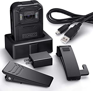 Police Body Camera for Law Enforcement: Wearable 1440p High-Definition Video + Audio Body Camera with Night Vision, GPS, Waterproof for Security Guards, Police Officers, and Personal Use