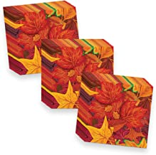Beistle Fall Leaf Beverage Napkins (48 Pack), Multicolor