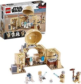 LEGO 75270 StarWars Lacabaned'Obi-Wan, Premier Set Star Wars pour Les Plus de 7 Ans avec Les héros Obi-Wan Kenobi, Luke...