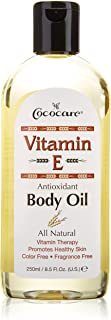 La vitamina E. aceite corporal. 8.5 fl oz (250 ml) - Cococare