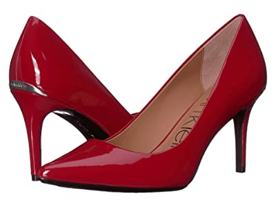 Calvin Klein Gayle Pump (Crimson Red) High Heels