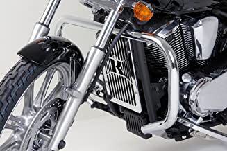 Customacces AZ1244N Engine Guards Model Mustache Stainless Steel Harley Davidson Sportster 1200 Superlow 04-15