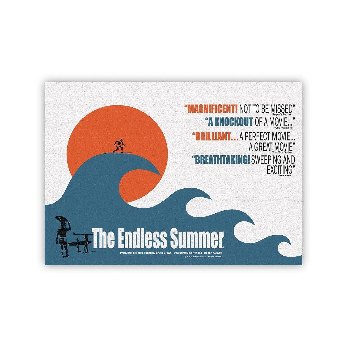 置き場メイド死サーフィン映画A3ポスター?The Endless Summer (エンドレスサマー)?ウェーブ