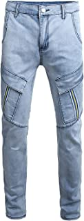 cargo blue jeans