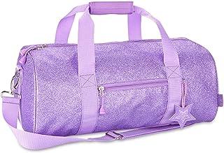 Bixbee Kids Duffel Bag Sparkalicious Glitter, Purple (Pink) - 303012