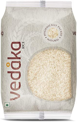 Amazon Brand Vedaka Kolam Rice Raw 5kg