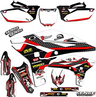 Compatible with Yamaha 2006-2019 TTR 50 Fly Racing Pink Graphics Kit
