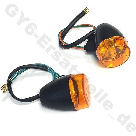 Blinker Blinkleuchten Vorne Rechts Links Z B Benzhou Yiying Yy50qt 26 Yy125t 26 Flex Tech Fun 50 Baotian Bt49qt 7 Bt125t 2 Flex Tech Ering China Roller Gy6 Auto