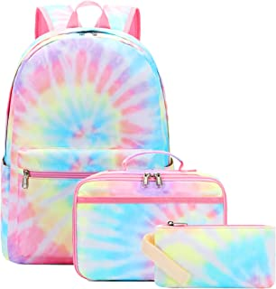 BLUBOON School Backpack for Girls Teens Bookbag Set Laptop Backpack Lunch Box with Pencil Bag