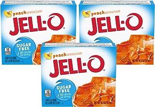 Jell-O Peach Sugar Free Gelatin, 0.3 oz (3-pack)