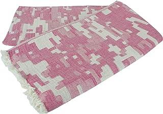 Turkish Super Soft 100% Cotton Double Face Peshtemal Towel Hamam, Sauna, Bath, Beach Towel, 180 X 100 Cm