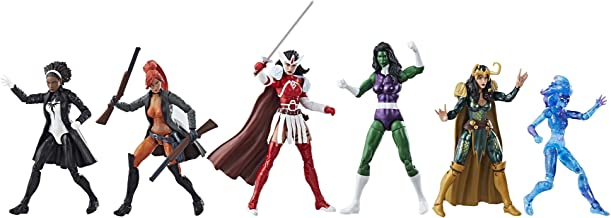 Marvel Legends A-Force Heroines Exclusive Action Figure 6-Pack
