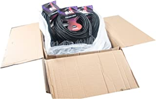 Elite Core VRL 5-Pin DMX 100' ft Pro-Lighting Shielded Cables | LED-Data | Low Capacitance | Case of 10, 100 (VRLDMX5P100-MC)