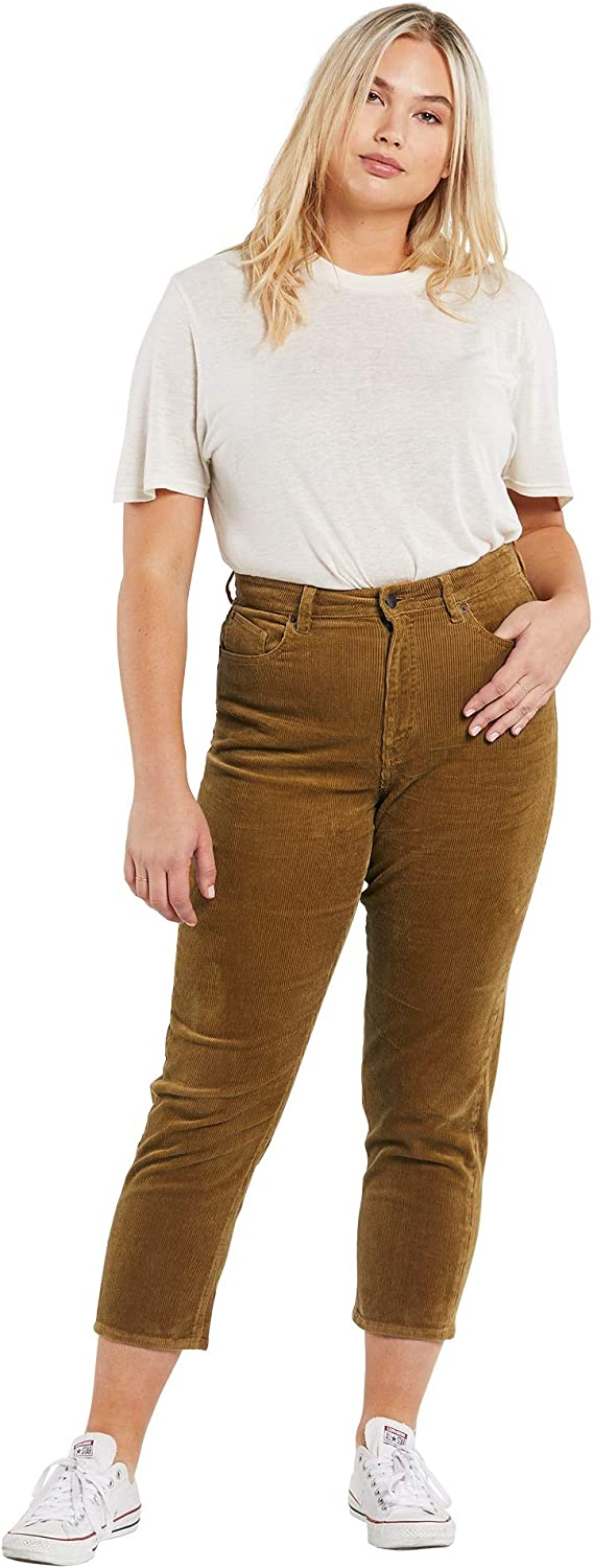 Volcom Boston Mall Women's Recommended Stoned Corduroy Straight