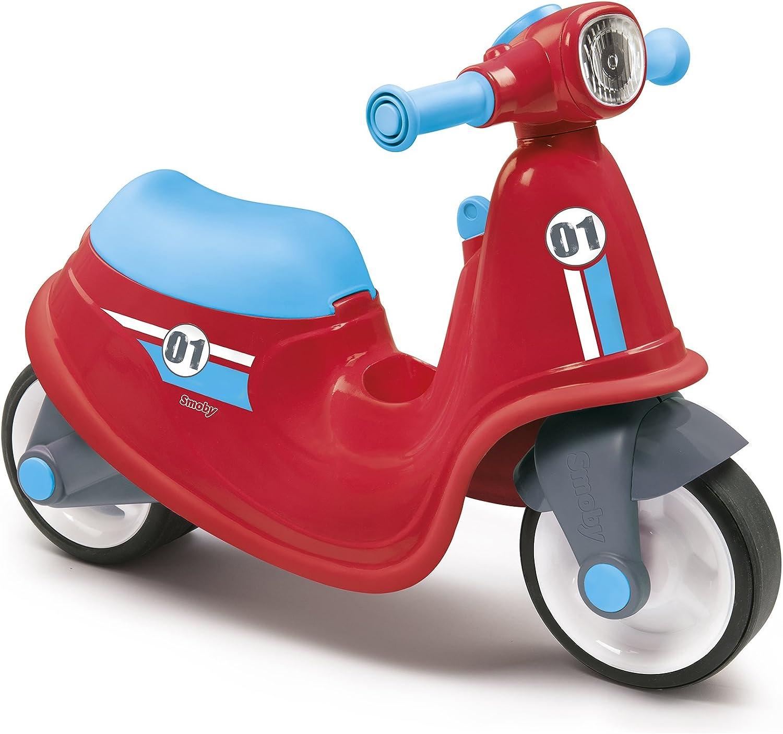 Correpasillos Scooter rojo con ruedas silenciosas (Smoby 721003)