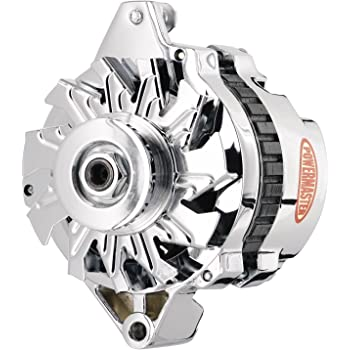 [SCHEMATICS_4PO]  Amazon.com: Powermaster 178021 GM CS130 Delco Alternator 105A w/ V-Belt  Pulley 1-Wire Chrome: Automotive | Gm Delco Alternator Wiring |  | Amazon.com