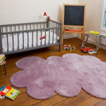 pilepoil TAP-ETOI-BL Mauve Large Cloud Children Rug,