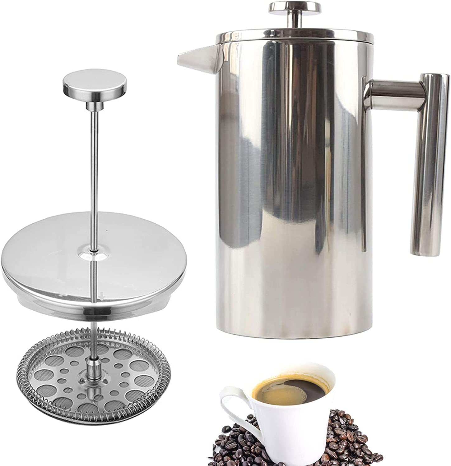 JSZY French Press Coffee Maker Portable quality Popular product assurance Walled Insulated Double