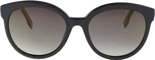 نظارة شمس بعدسات شكل عين القطة من فندي للنساء - عدسة رمادية، Ff 0268/S Fq